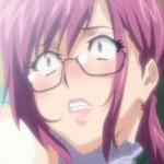 眼鏡の女教師がローターバイブ責めされて視聴覚室で絶頂【エロアニメ】