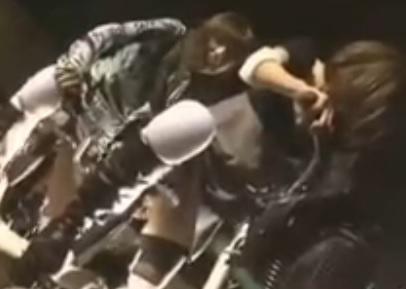 電マ装着アクメ自転車で泣きながら二人乗り失禁絶頂【辻本りょう】【みずほゆき 】