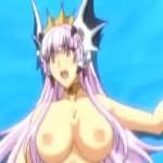 催眠で動けなくさせられた姫様が破瓜凌辱レイプで中出しされて快楽墜ち【エロアニメ】