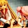 犯されながら大量の白濁浣腸され極太アナルビーズを高速ピストン【エロアニメ】