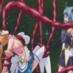 人類を守るために戦う魔法少女が触手と悪堕ちしたふたなりの妹に犯されレイプ目で絶頂【エロアニメ】