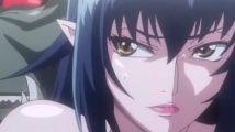 トロルのケダモノチンポにズボズボ犯されてアヘ顔晒して絶頂する無敵の女剣士【エロアニメ】